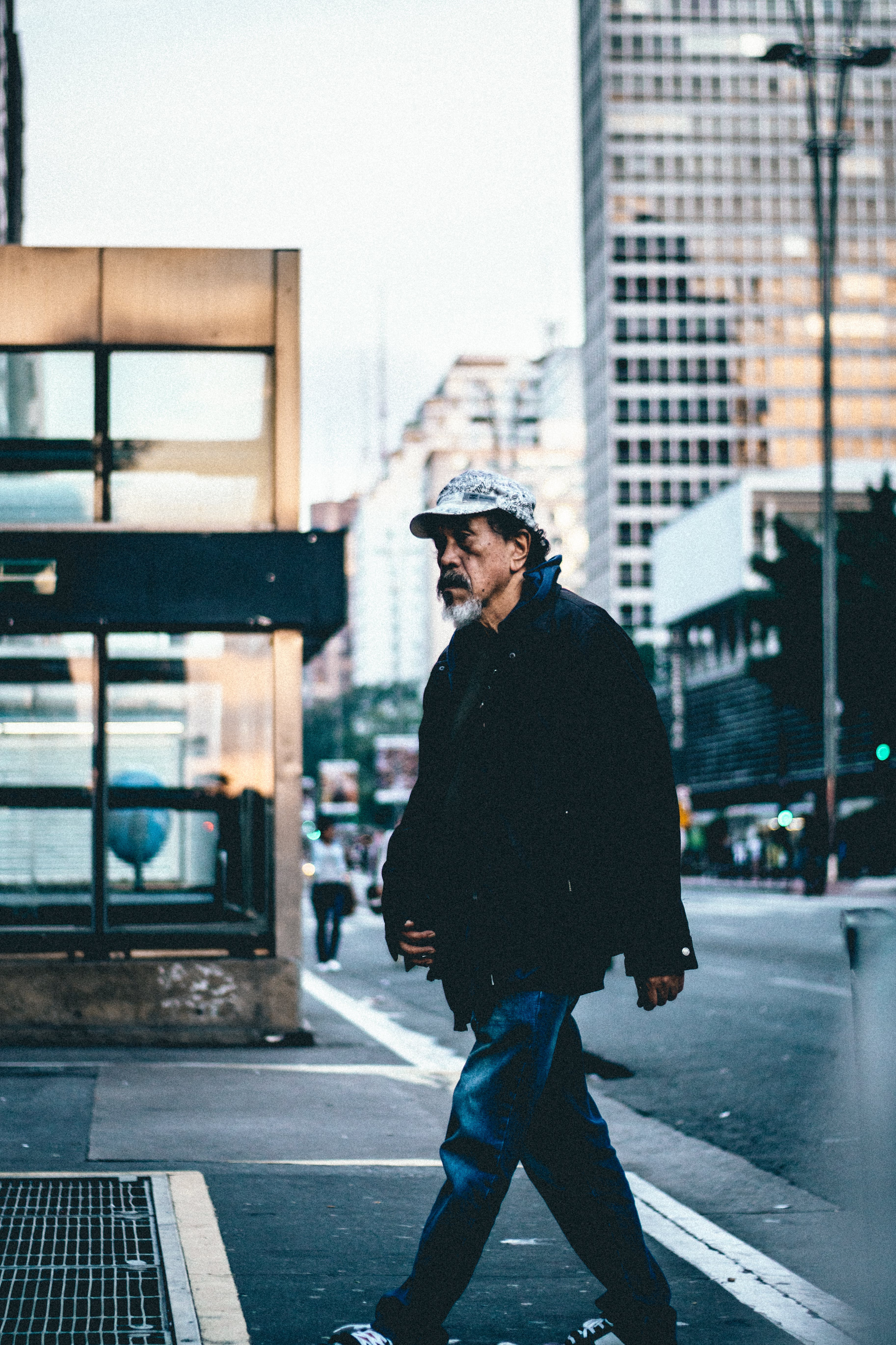 Free stock photo of city, road, man, person