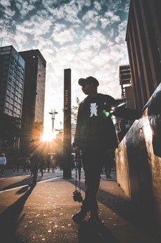 Free stock photo of city, road, sky, fashion