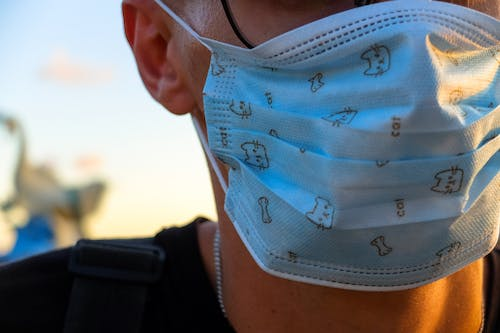Free stock photo of face mask, face masks, man, surgical mask