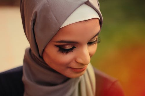 Woman Wearing A Hijab Smiling