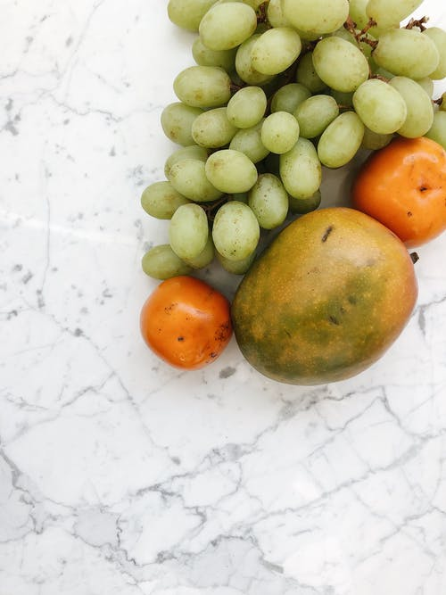 Healthy Fruits on Marble Table