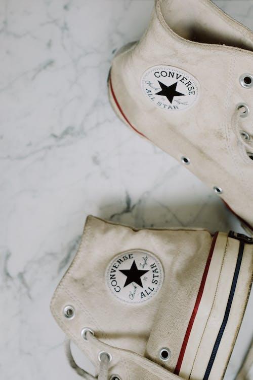 Immagine gratuita di bianco, calzature, casual, converse all star