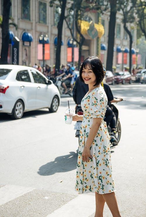 Kostenloses Stock Foto zu ao dai, asiatin, asiatische frau