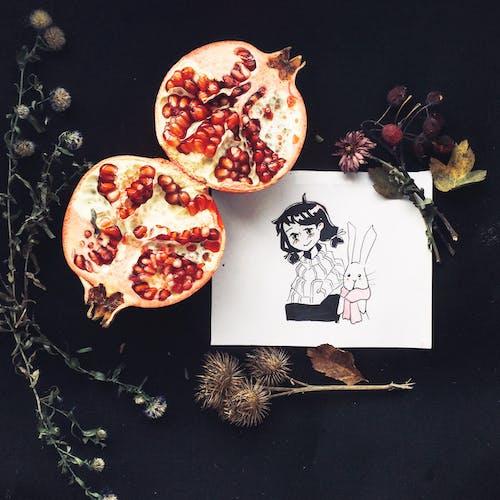 Photos gratuites de aliments, art, dessiner