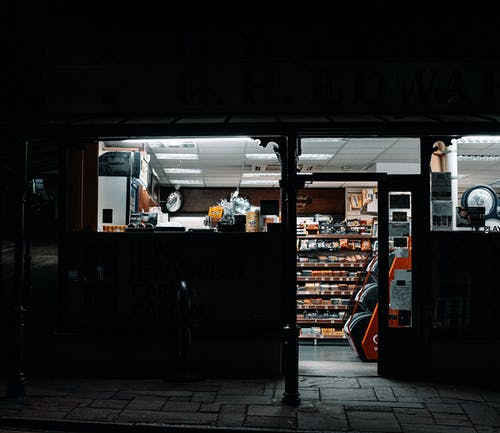 Convenience Store Open At Night