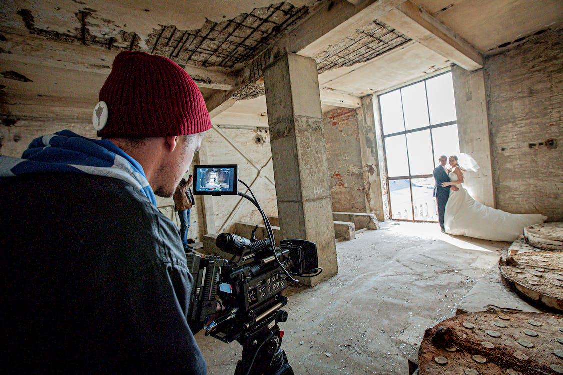 Behind The Scene of Wedding Photoshoot