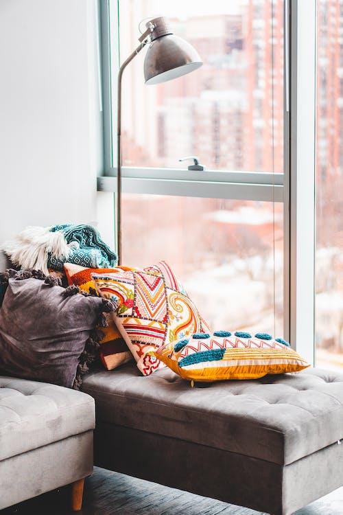Základová fotografie zdarma na téma apartmán, barevný, dekorace, design