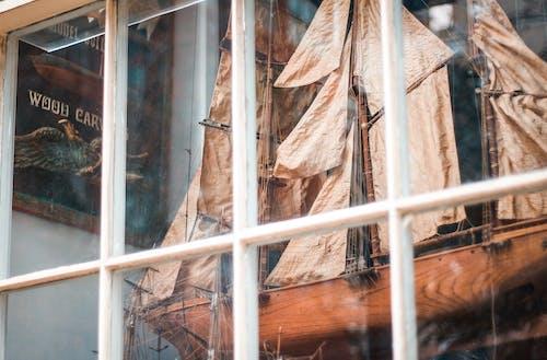 Free stock photo of craftsmanship, display window, fossil, sail