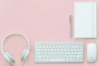 notebook, pen, technology