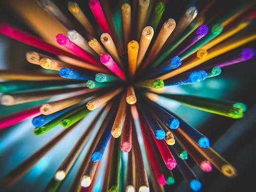 Základová fotografie zdarma na téma barevný, tyčinky, zblízka
