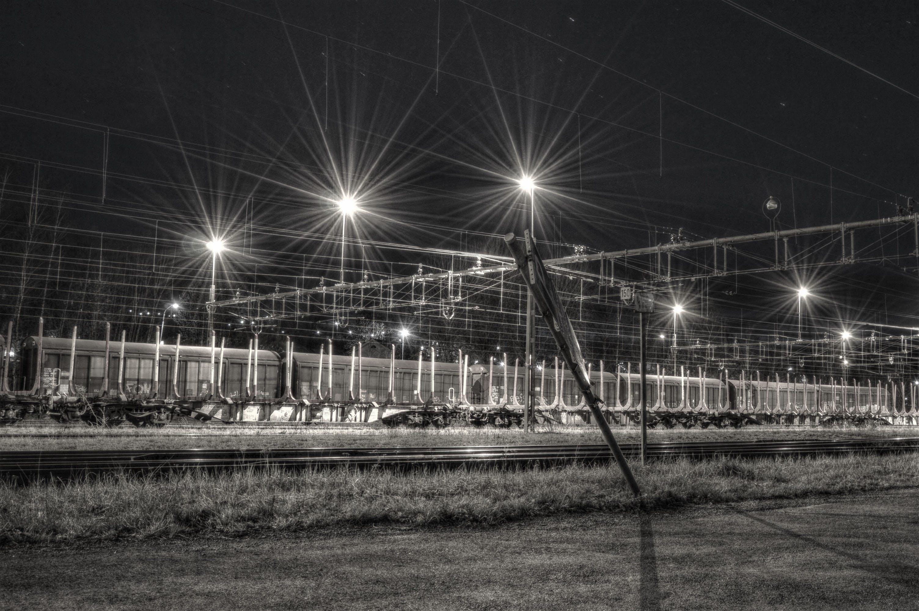 Free stock photo of evening, light, lights, night