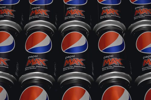 Free stock photo of pepsi max cans