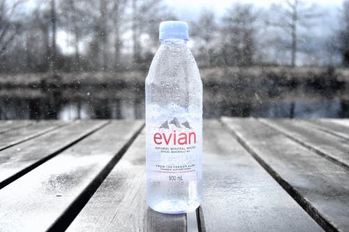 Free stock photo of bottle, bridge, evian water