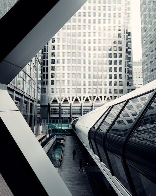 Δωρεάν στοκ φωτογραφιών με canary wharf, Αγγλία, αρχιτεκτονική, αρχιτεκτονικό σχέδιο