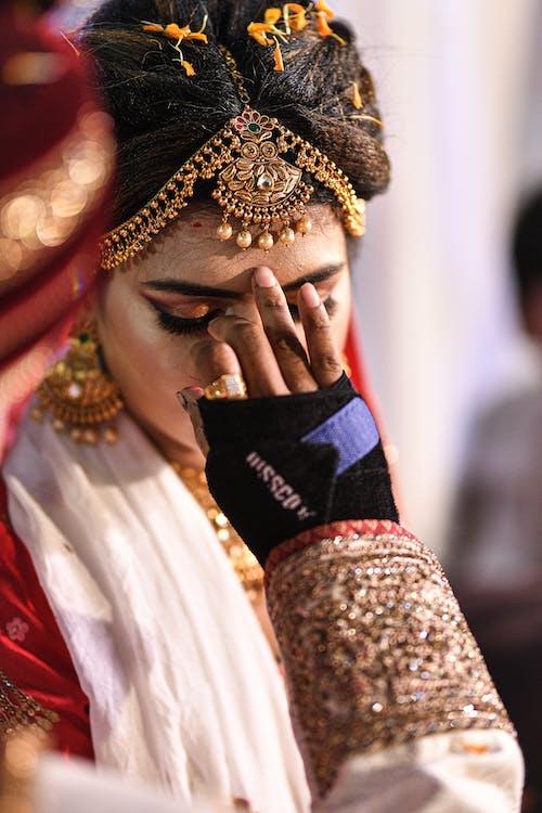 傳統, 傳統服飾, 儀式, 女人 的 免費圖庫相片