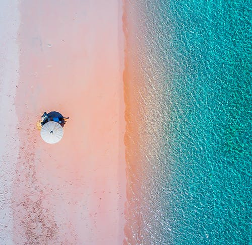 Free stock photo of beach, drone footage