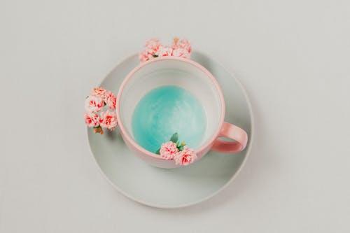 Gratis stockfoto met bestek, bloemen, concept, drank