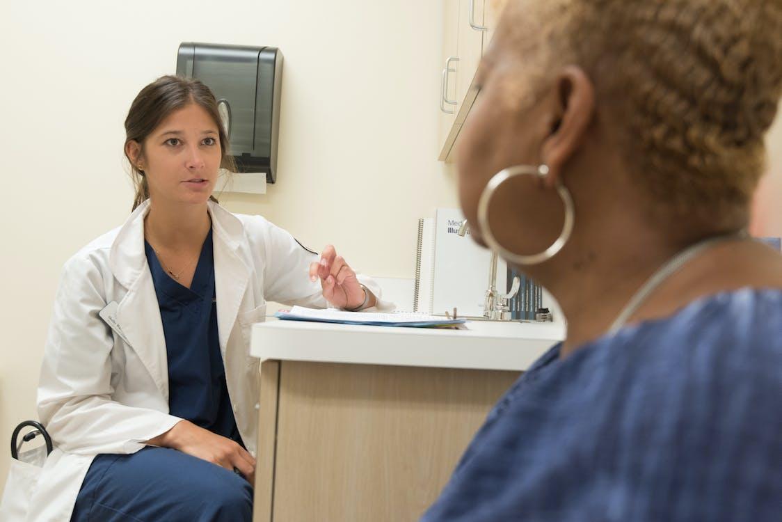 Woman Having a Check-up