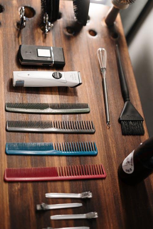 Бесплатное стоковое фото с equioment, аксессуар для волос, Бритва