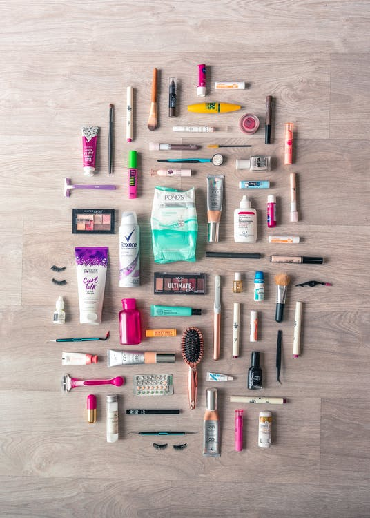 Flat Lay Photography of Beauty Products Guide to Shopping Beauty Products