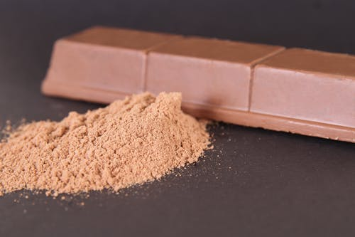 Brown Powder And Chocolate