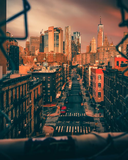 คลังภาพถ่ายฟรี ของ ตอนเย็น, ตัวเมือง, ตึก, ทันสมัย
