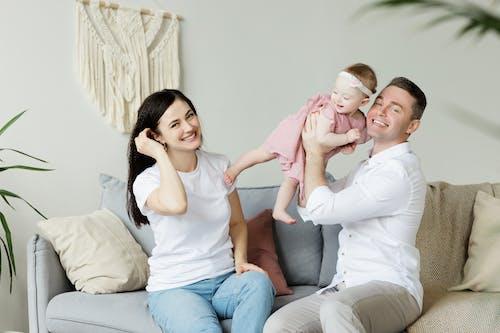 一對, 休閒裝, 兒童, 可愛的 的 免费素材照片