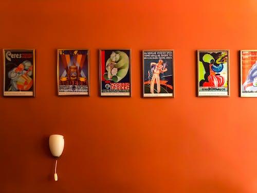 Δωρεάν στοκ φωτογραφιών με vintage τοίχο, βαθμιαίος, διακόσμηση, δωμάτιο
