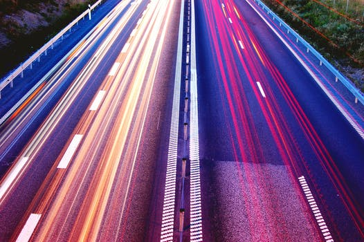 Free stock photo of cars, road, traffic, lights