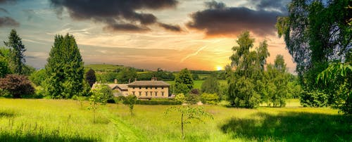 Free stock photo of background, clouds, cloudscape, Country House