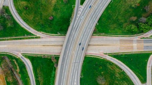 Aerial Shot Of Roads