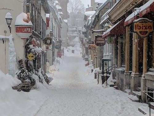 Snowcapped Street