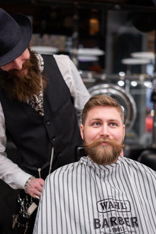 Foto profissional grátis de adulto, aliciamento, barba