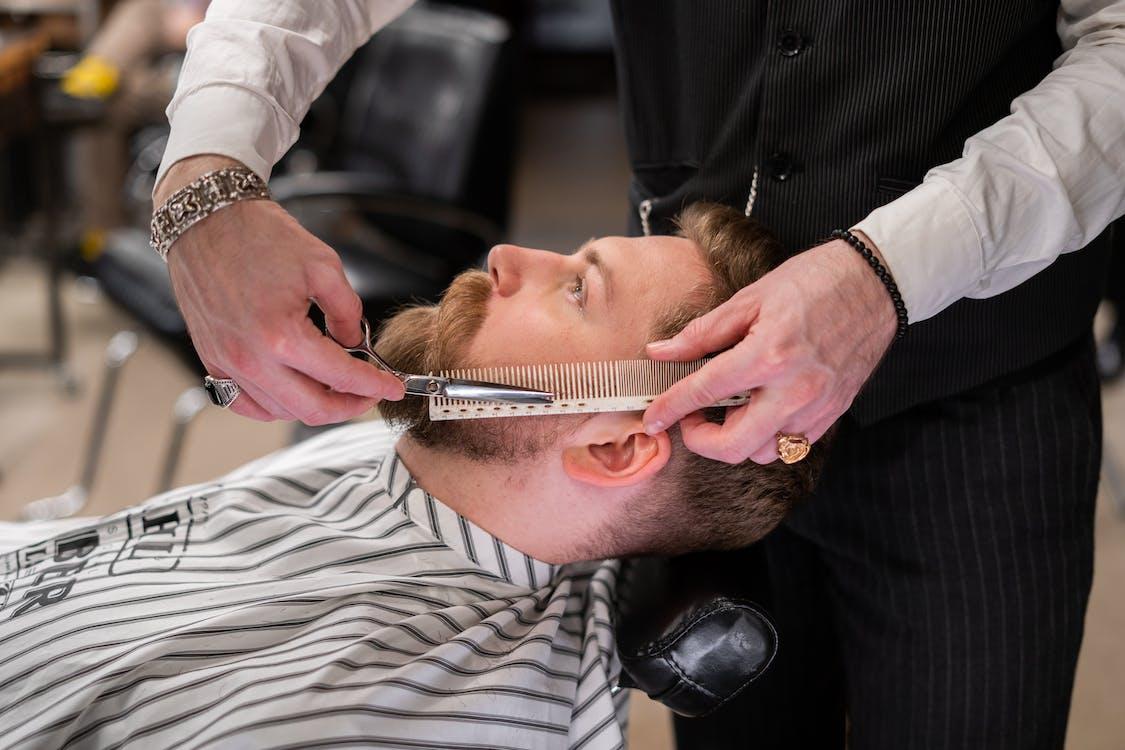 accesorio para el cabello, adentro, afeitar