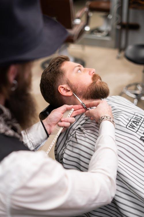 Kostenloses Stock Foto zu ausrüstung, barbier, bart