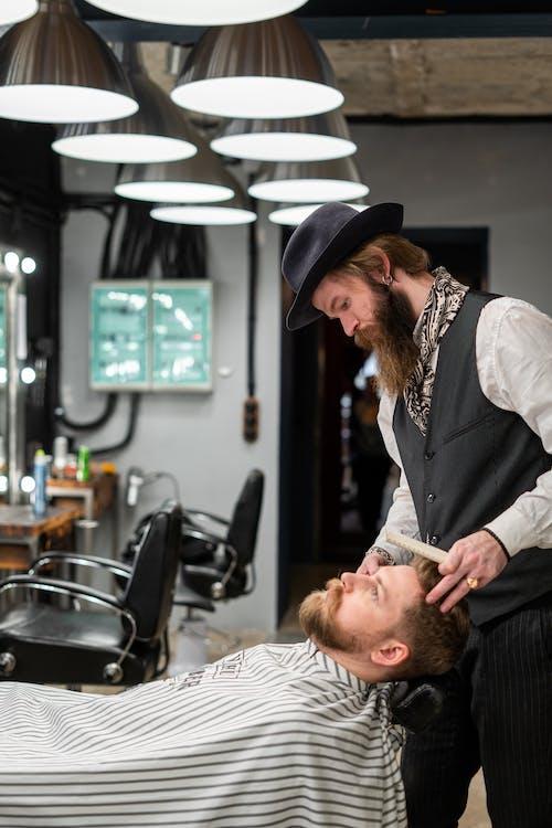 Foto profissional grátis de acessorio de cabelo, aliciamento, barba