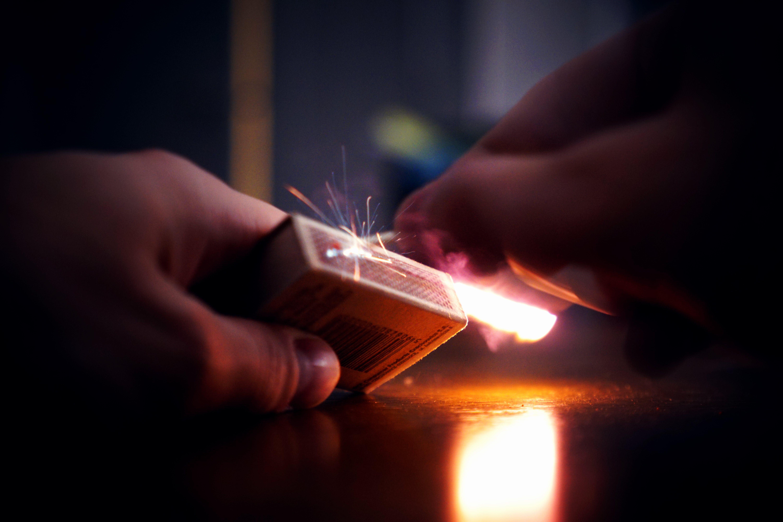 Lighted Matchbox