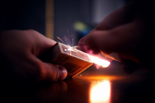Lighted Matchbox