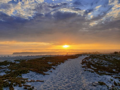 Základová fotografie zdarma na téma honí západy slunce, pěší turistika, pobřeží kalifornie, pobřežních a oceánských landforms