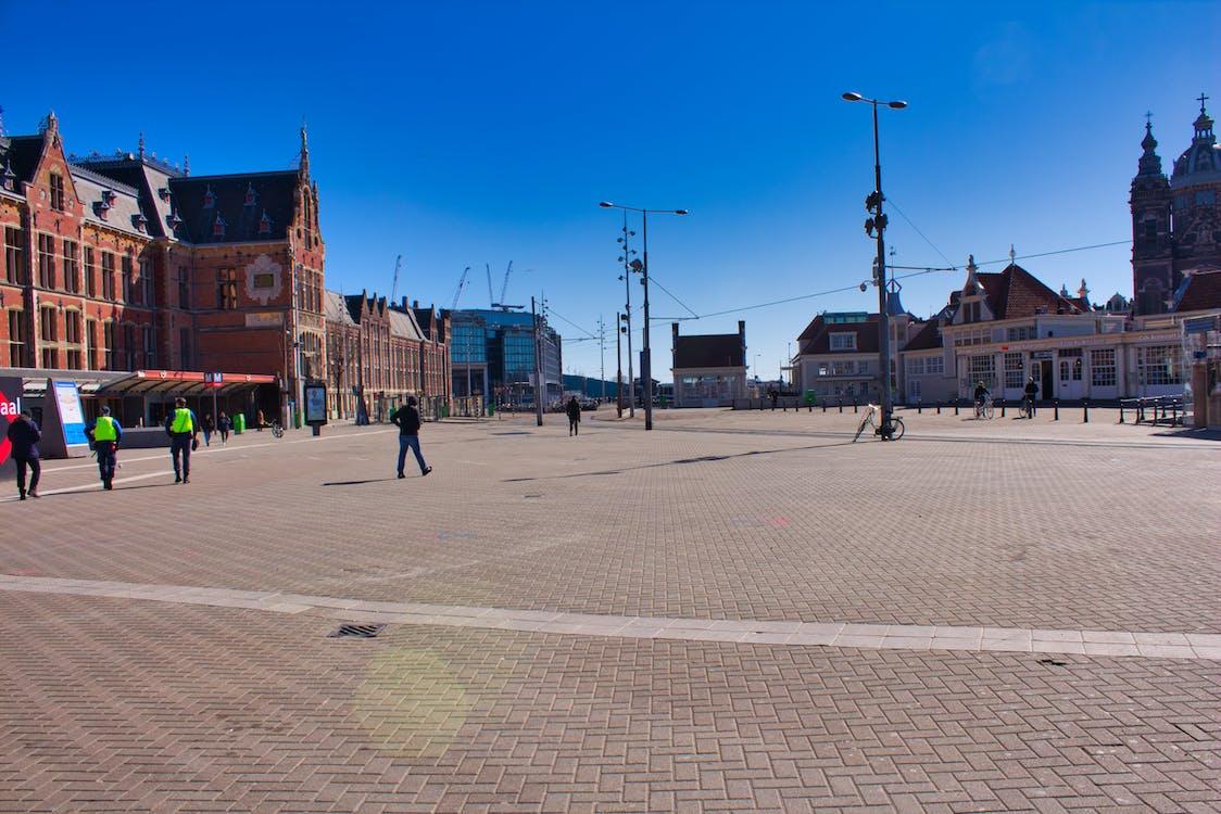 Imagine de stoc gratuită din Amsterdam, autoblocare, centru