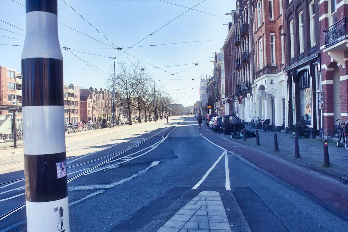 Free stock photo of amsterdam, center, city traffic