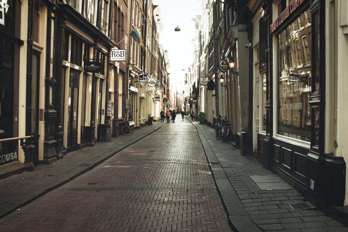 Free stock photo of amsterdam, city, empty street