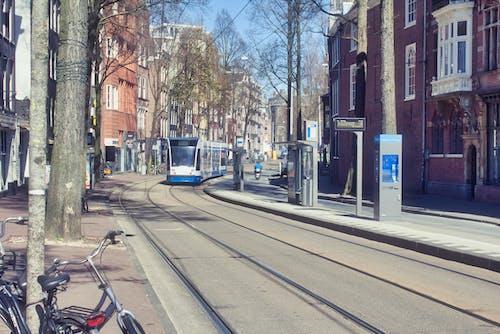 Darmowe zdjęcie z galerii z amsterdam, holandia, pusta ulica