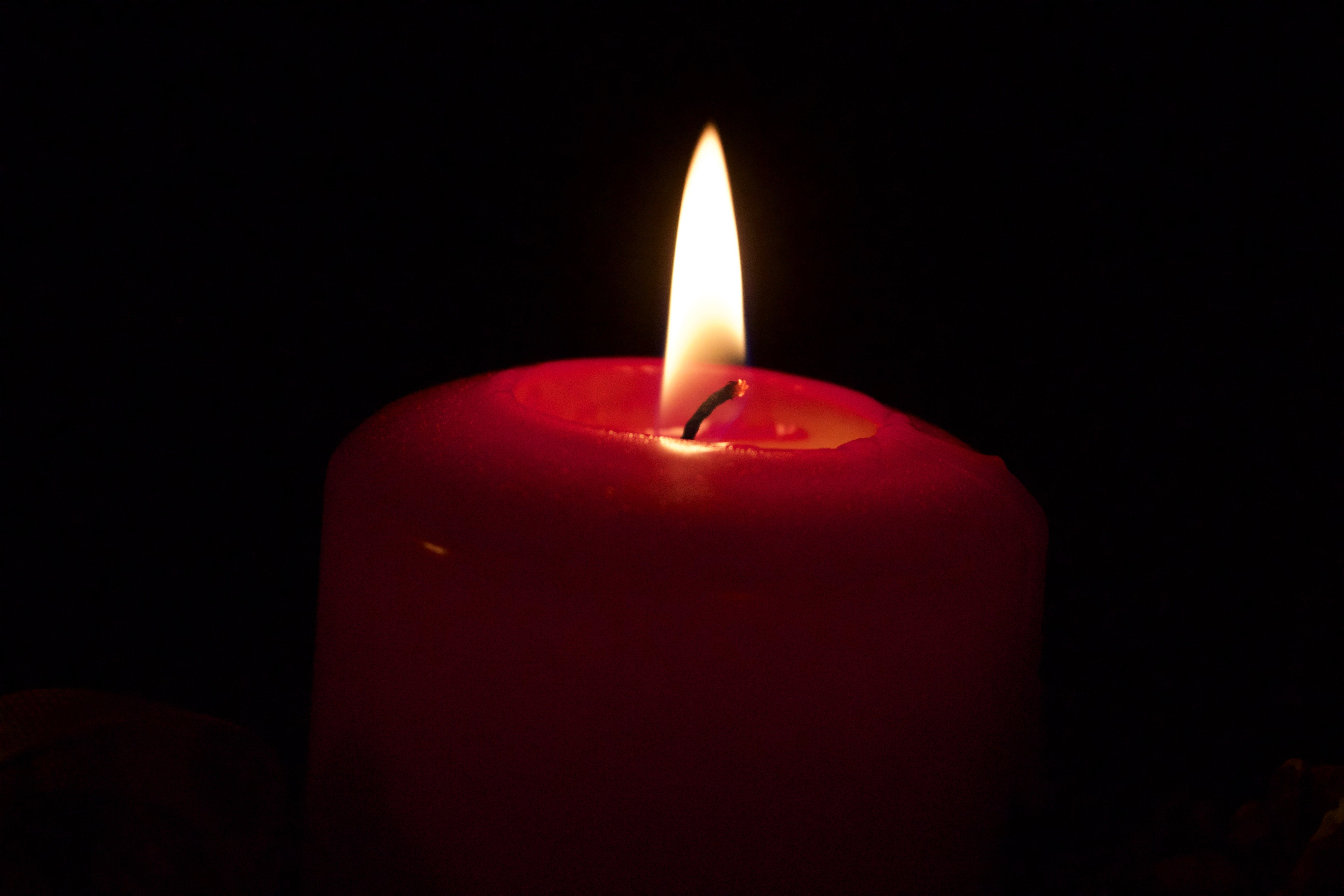 Free stock photo of candle, candlelight, dark, darkness
