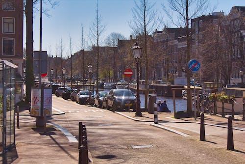 Darmowe zdjęcie z galerii z amsterdam, blokada, droga