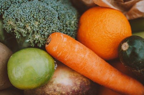 Základová fotografie zdarma na téma čerstvá zelenina, jídlo, lahodný, mrkev