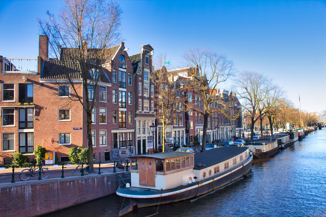 Free stock photo of amsterdam, boat house, boats