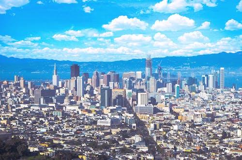 Kostnadsfri bild av blå, buktområdet, byggnader, himmel