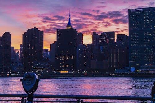 Free stock photo of city, new york, sunset