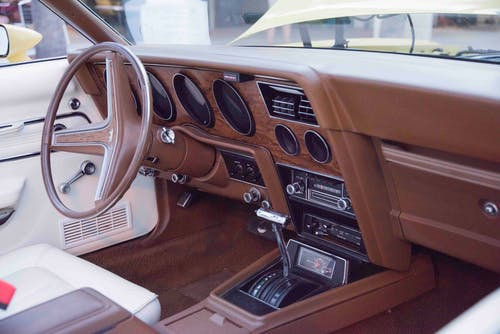 Brown Car Interior